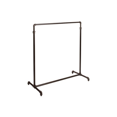 Boutique Pipe Single-Rail Ballet Bar Rack 48