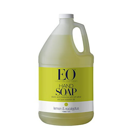 EO Liquid Hand Soap Refill Lemon essential oil uplifts & detoxifies skin