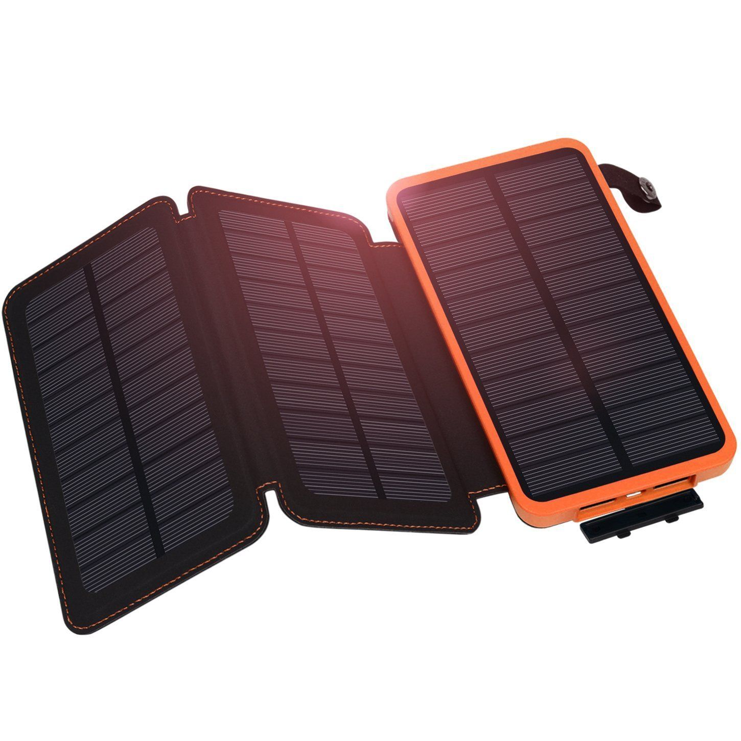 500000mAh Solar Panel External Battery Charger Power Bank For Cell Phone Tablets(Green)