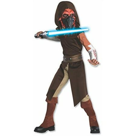 Rubie's Star Wars Clone Wars Child's Deluxe Plo Koon Costume and Mask, - Clone Wars Plo Koon