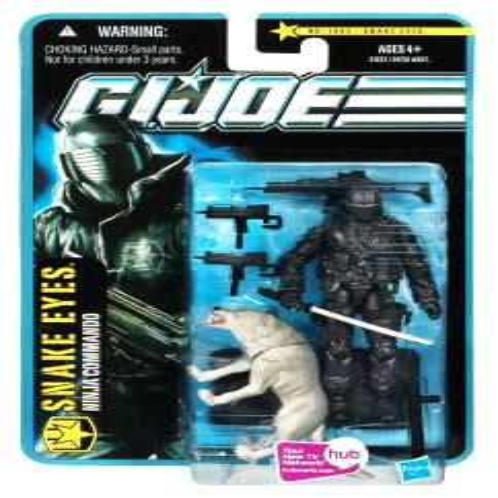 GI Joe Pursuit of Cobra Snake Eyes Action Figure [Desert Battle] (Party City Joe Battle)