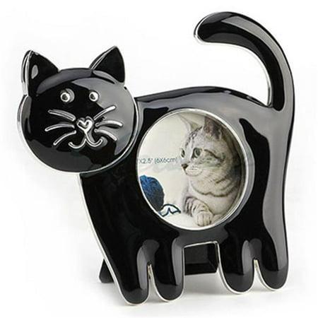 Unicorn Studios AT09055AB Cat Standing on Four Leg Photo Frame - Black - image 1 de 1