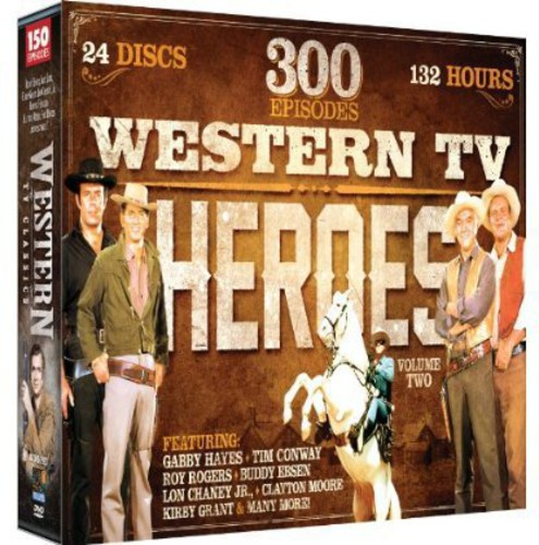 Mill Creek Western TV Heroes, Vol. 2: 300 Episode Collect...