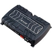 Power Acoustik BAMF1-5000D Max 5000 watt BAMF Series Monoblock Class D amp, Black