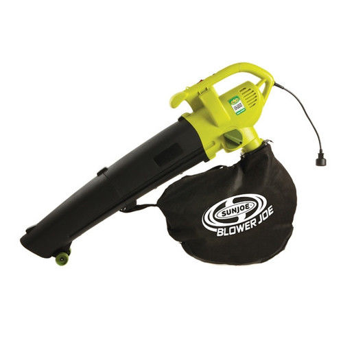 Sun Joe SBJ604E Blower Joe 3-in-1 Electric Blower/Vac/Leaf Shredder