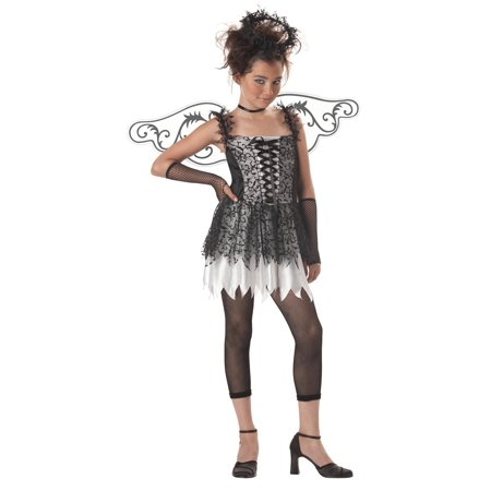 Dark Angel Dress Costume Child Tween Large 10-12