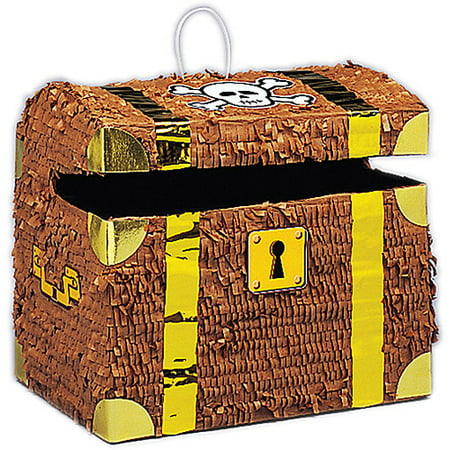 Unique Industries Treasure Chest Pinata (Pinatas For Boys)