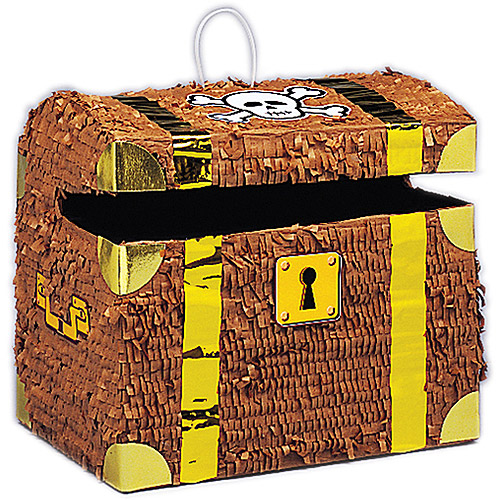 Unique Industries Treasure Chest Pinata