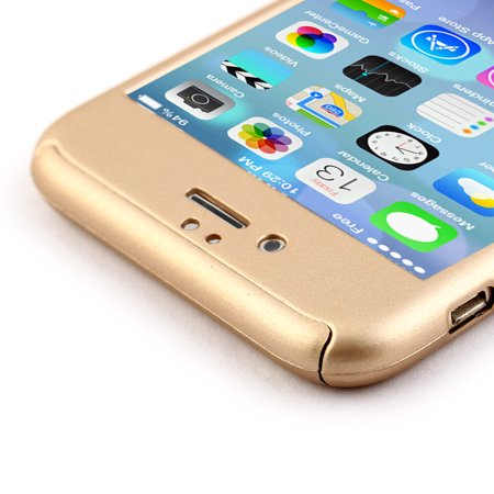 """Phone Plastic Full Body Protection Case Cover Champagne Color for iPhone 6 4.7"""" - image 2 of 7"""