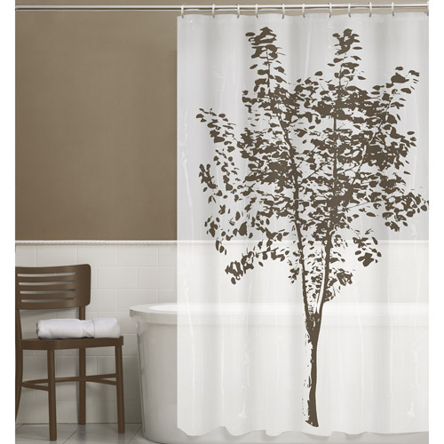 Maytex Arbor 13-Piece PEVA Shower Curtain Set