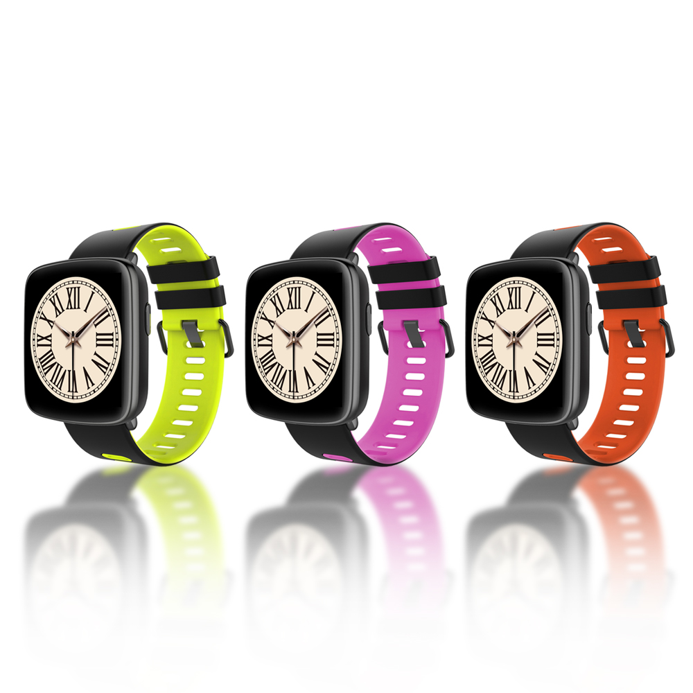 TechComm GV68 Water Resistant Bluetooth Smartwatch With Heart Rate Monitor