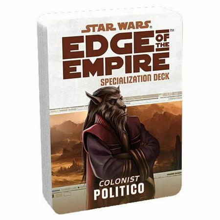Politico Deck Star Wars Edge Of The Empire Rpg Fantasy Flight Games