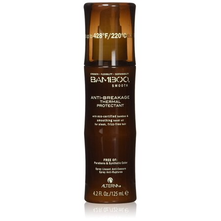 Bamboo Smooth Anti-Breakage Thermal Protectant Spray for Unisex, 4.2 Ounce, Made with Kendi Thermal Protect Complex, this spray is clinically proven to reduce breakage,.., By Alterna