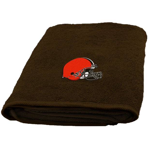 NFL Applique Browns Bath Towel, 1 Each