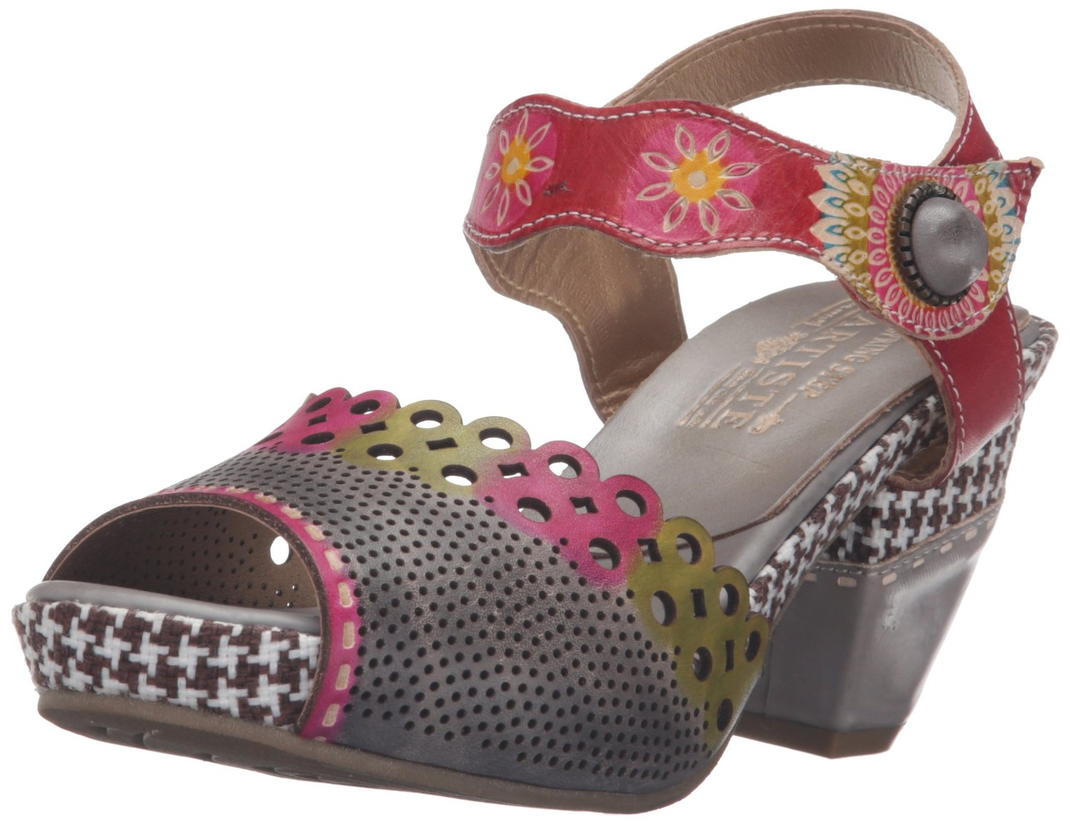 L'Artiste by Spring Step Women's Jive Flat Sandal by L'Artiste by Spring Step