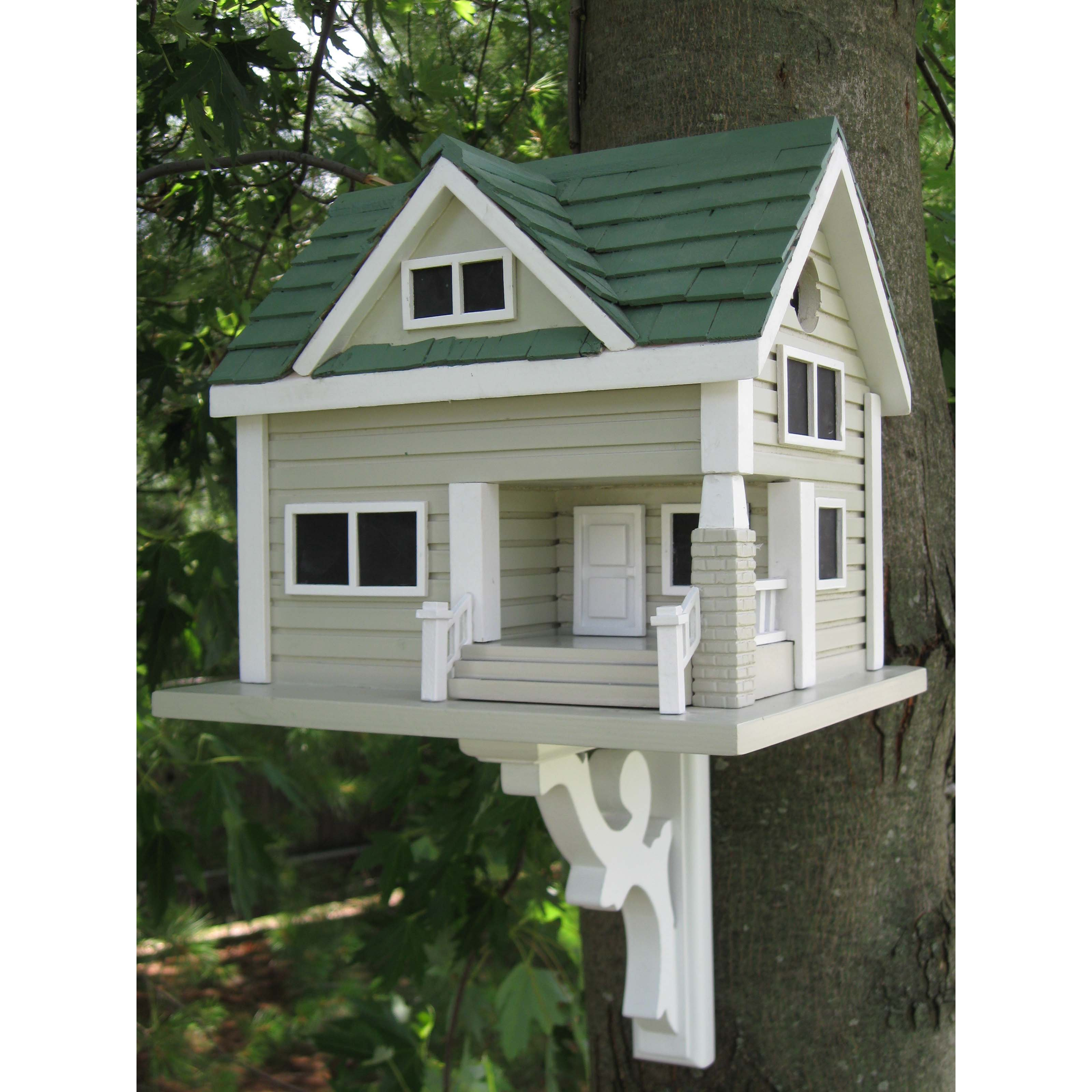 Home Bazaar Bungalow Birdhouse by Home Bazaar Inc.