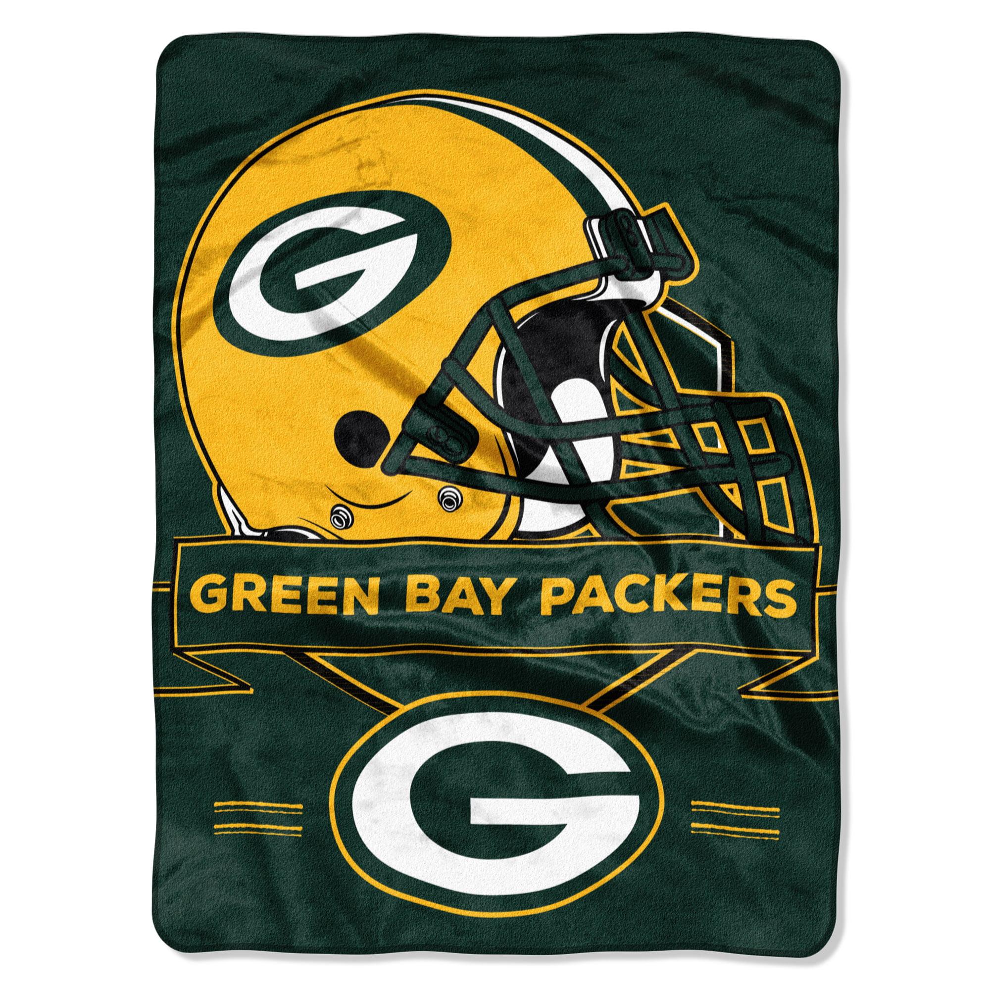 "Green Bay Packers The Northwest Company 60"" x 80"" Prestige Raschel Blanket - No Size"