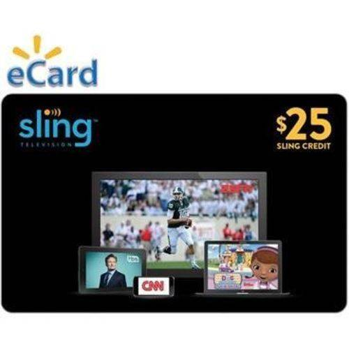 Sling TV $25 (Email Delivery)