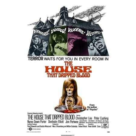 The House That Dripped Blood POSTER Movie UK A Mini - 0x40 Halloween