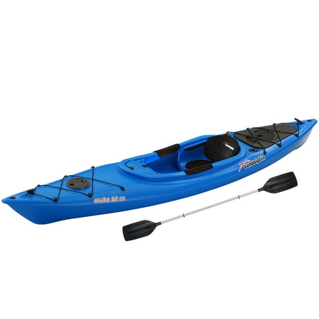 Sun Dolphin Aruba Sit-In 12' Kayak Blue, Paddle (35384 Dolphin)