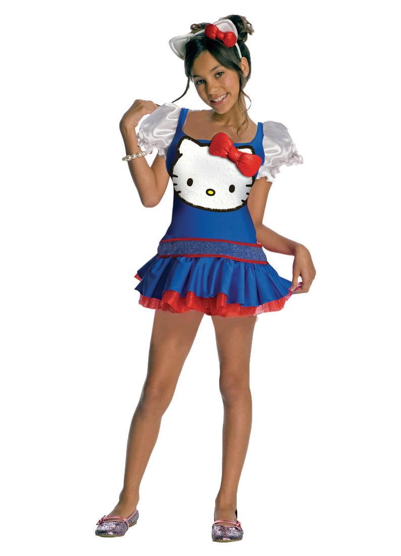 Child Hello Kitty Blue Dress Costume Rubies 881655 by Rubies