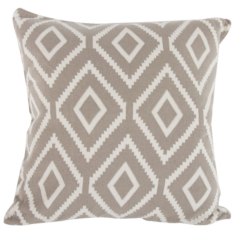 A&B Home Diamond Mine Cotton Cashmere Throw Pillow by A&B Home