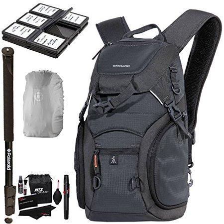 Vanguard Adaptor 45 Camera Daypack Rain Bag Cover Sd Sdhc Memory Card Hard