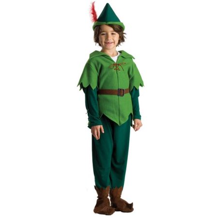 Women Peter Pan Costume (Dress Up America  Boys' Peter Pan)