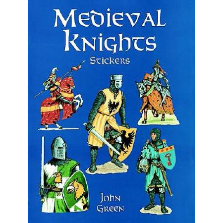 Medieval Castle Sticker (Medieval Knights Stickers)