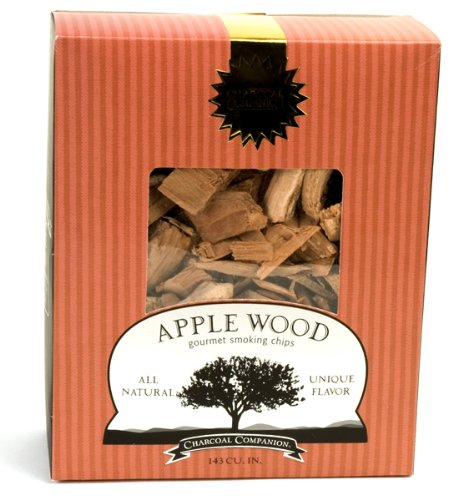 Charcoal Companion Apple Wood Gourmet Smoking Chips Multi-Colored