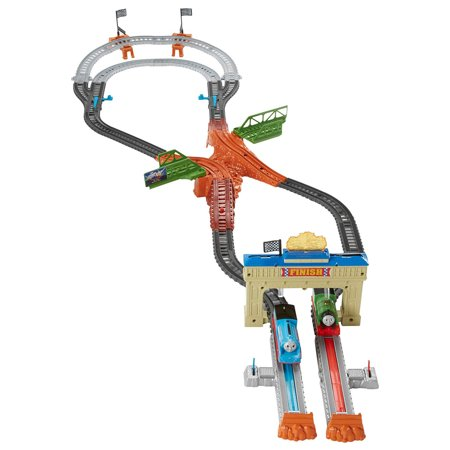 Thomas Railway Race Set (Thomas And Friends Lets Have A Race)