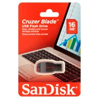 SanDisk SDCZ50-016G-AW46S 16GB USB 2.0 Flash Drive (Black)
