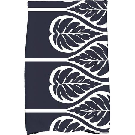 "Simply Daisy 16"" x 25"" Fern 2 Floral Print Kitchen Towel"