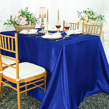 Royal Blue Table Decorations (Wedding Linens Inc. 72