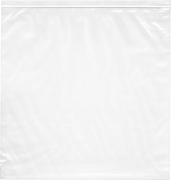 "20"" x 20"", 4 Mil Heavy Duty Plastic Reclosable Zipper Bags"
