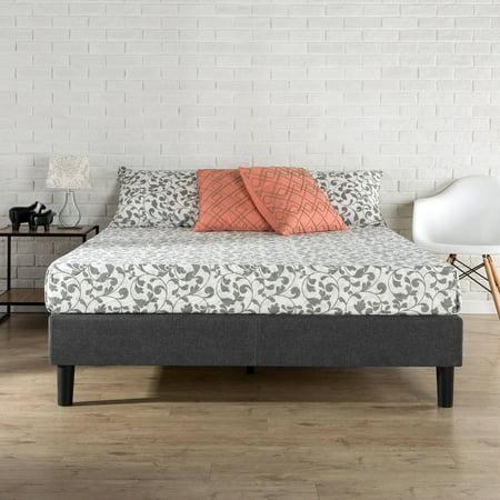 Zinus Essential Platform Bed Grey. Zinus Essential Platform Bed Grey   Walmart com