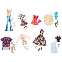 Barbie Fashions Multi-pack with 8-Outfits & Matching Accessories