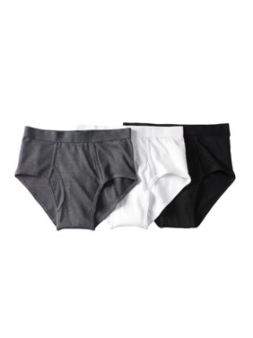 KingSize Men's Big & Tall Classic Cotton Briefs 3-Pack Underwear