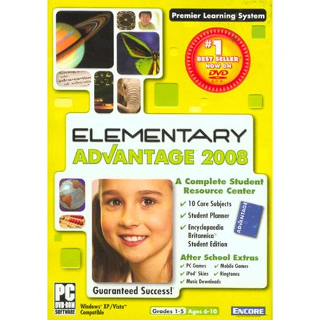 Elementary School Advantage 2008 ~ Math, Reading & Writing, History, Vocabulary, Spanish, Science & More Encore High School Advantage