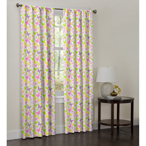 Maytex Isabel Curtain Panel, Set of 2