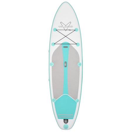 Vilano Journey Inflatable 10' SUP Stand up Paddle Board Kit, Includes Pump, Gauge, Paddle, Leash and Backpack](stand up paddle board package deals)
