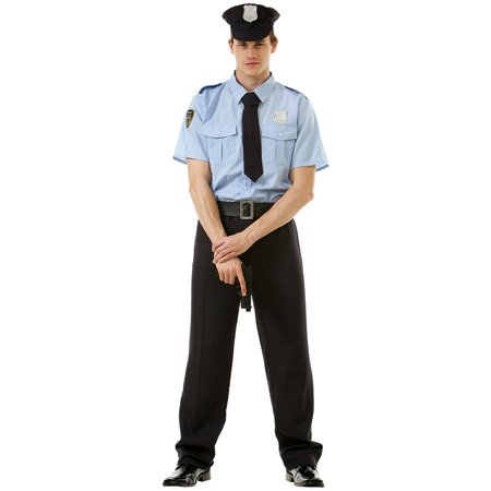 Boo! Inc. Good Cop Mens Halloween Costume | 911 Police Officer Classic Uniform