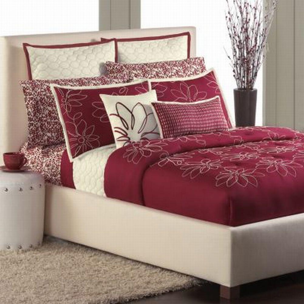 Apt. 9 Davina Full Floral Comforter Shams Bedskirt Set Re...