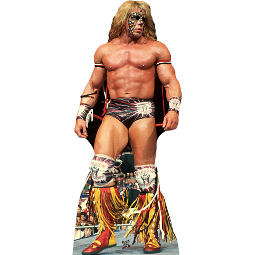 Advanced Graphics 1688 Ultimate Warrior - WWE Cardboard Cutout