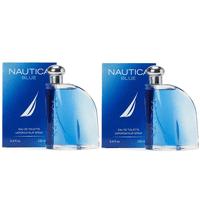 d91db717 NAUTICA BLUE 3.4 oz / 100 ML Eau De Toilette For Men Set Of 2 Sealed