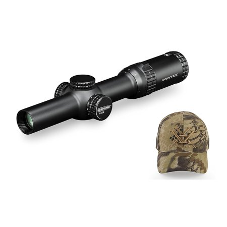 Vortex Strike Eagle 1-6x24 AR-BDC Reticle Riflescope (MOA) w/ Vortex Hat ()