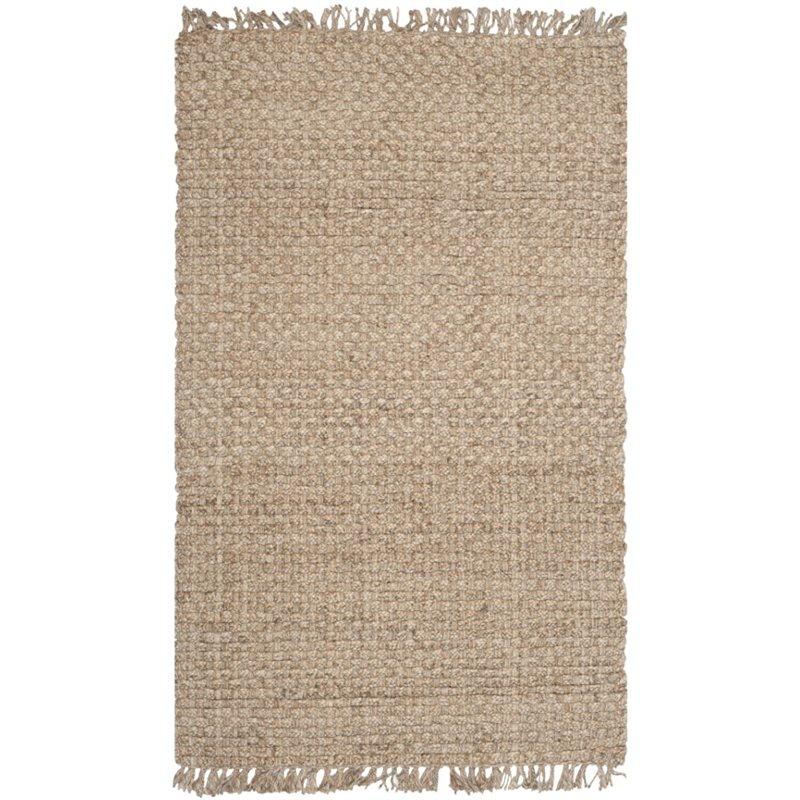 Safavieh Natural Fiber 6' X 9' Hand Loom Jute Rug in Natural - image 2 de 2