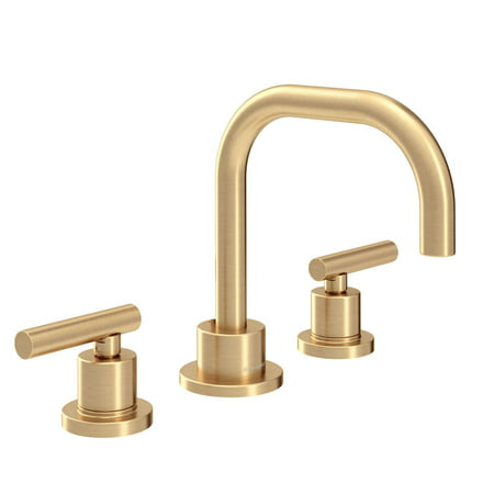 Dia Widespread 2-Handle Bathroom Faucet with Drain Assembly in Brushed Bronze (1.0 GPM)