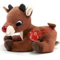 5-inch Musical Light Up Rudolph Red-nosed Reindeer