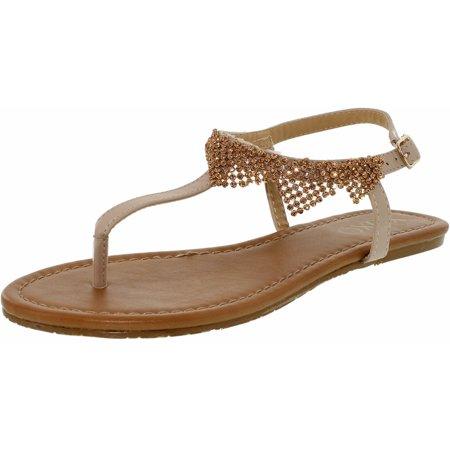Xoxo Women's Troy Bone Leather Sandal - 8.5M - image 3 de 3